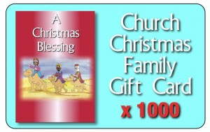 First Christmas pack cards1000
